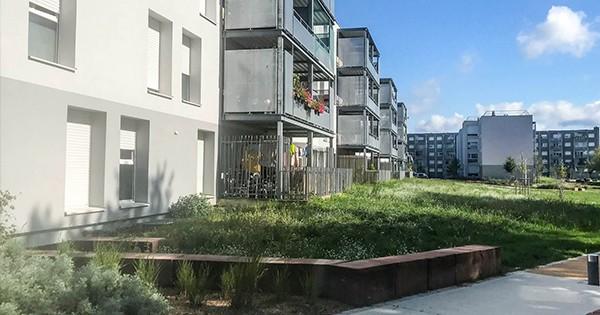 Coup de projecteur sur la réhabilitation des 106 logements à Mulhouse