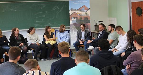 La Journée du BTP à l'INSA Strasbourg