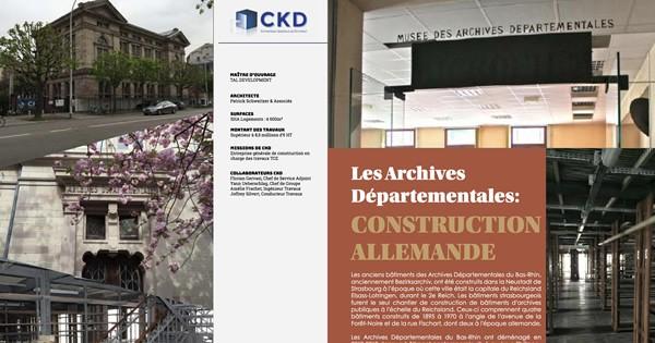 Les Anciennes Archives Départementales de Strasbourg se dévoilent ...